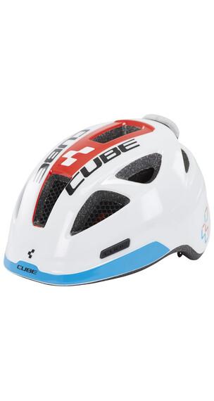 Cube Pro hjelm Børn hvid